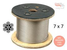 3.2mm 7x7 316 Stainless Steel Wire