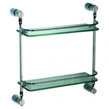 Sapphire 2-tier Glass Shelf