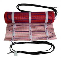 bathroom floor heating kit amuheat s bathroom under tile floor heating