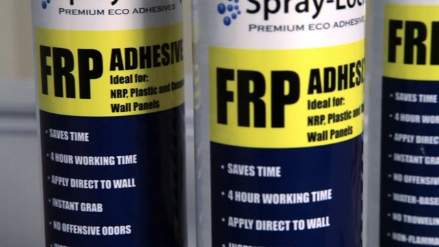 Frp Adhesive Trowel : Wall adhesive for decorative surfaces