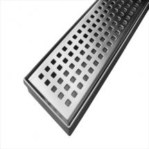 800 x 70 Square Pattern Grate Centre