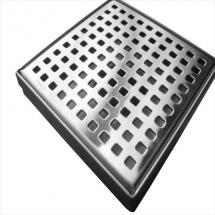 Stainless Steel Small Square Floor Waste