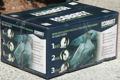 ECOBUST Non-explosive demolition powder
